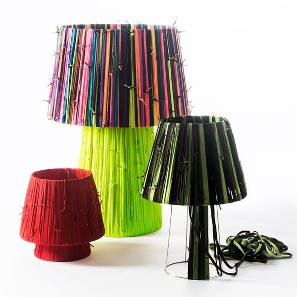 Your Next Lampshades May Be Made of Shoelaces