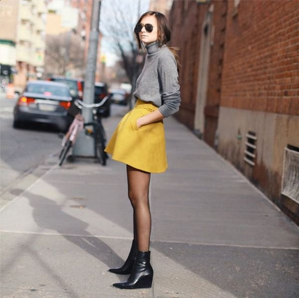 7 #OOTDs for the Week: How to Style a Turtleneck Through Spring