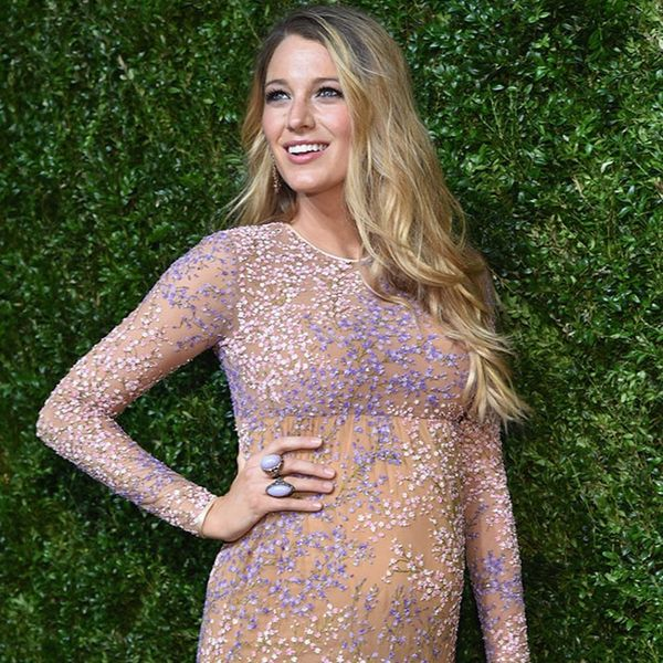 The Secret to Blake Lively's Perfect Hair Is a Weird One