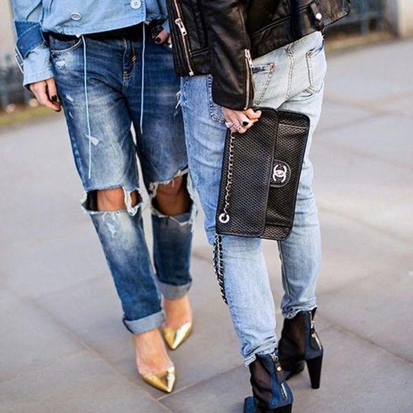 6 Ways to Make Boyfriend Jeans Look Downright Pretty