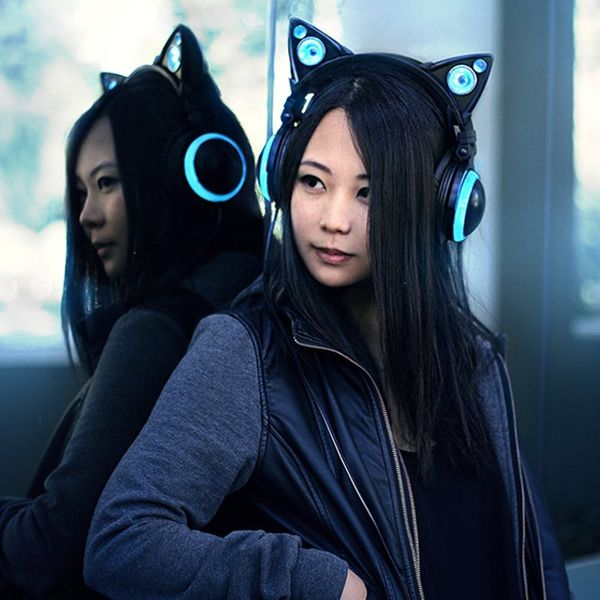 WTF or FTW: LED Cat Ear Headphones
