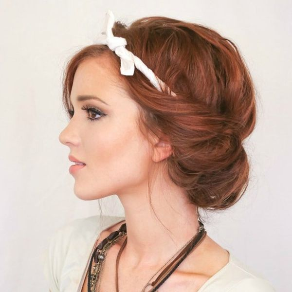 You Woke Up Like This: 16 Messy Updos