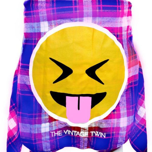 Love Emoji? Love the '90s? You Need These Flannels
