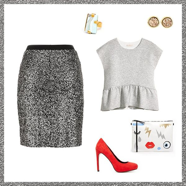 Style Resolutions: 3 Ways to Re-Wear a Sequin Skirt After NYE