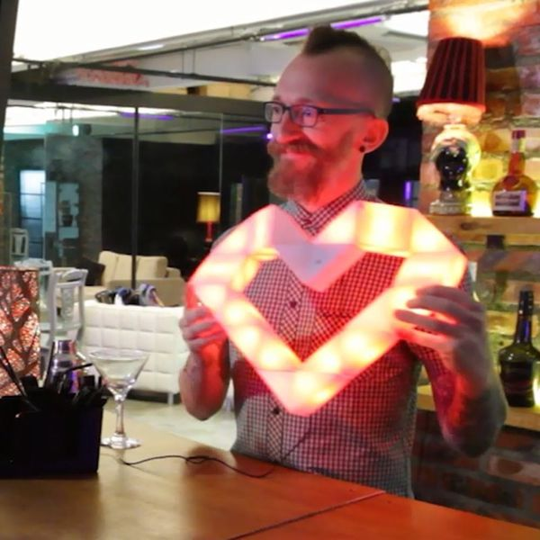 LED Light Puzzles Are Your New Favorite DIY Wall Art
