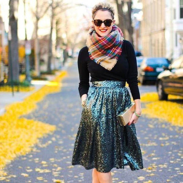 18 Ways to Re-Wear Your Holiday Party Sequins