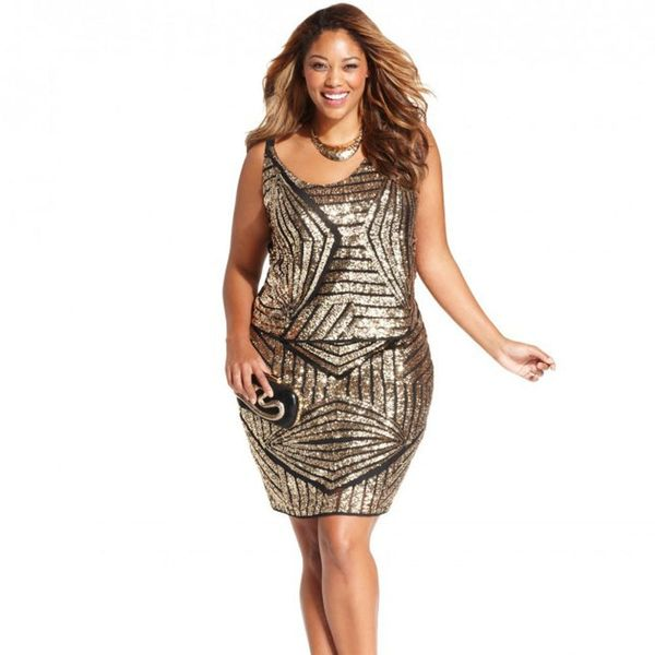 15 Plus Size New Year's Eve Party Dresses
