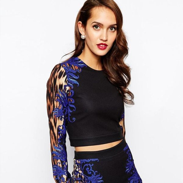 12 Winter Crop Tops That Won't Freeze Your Belly