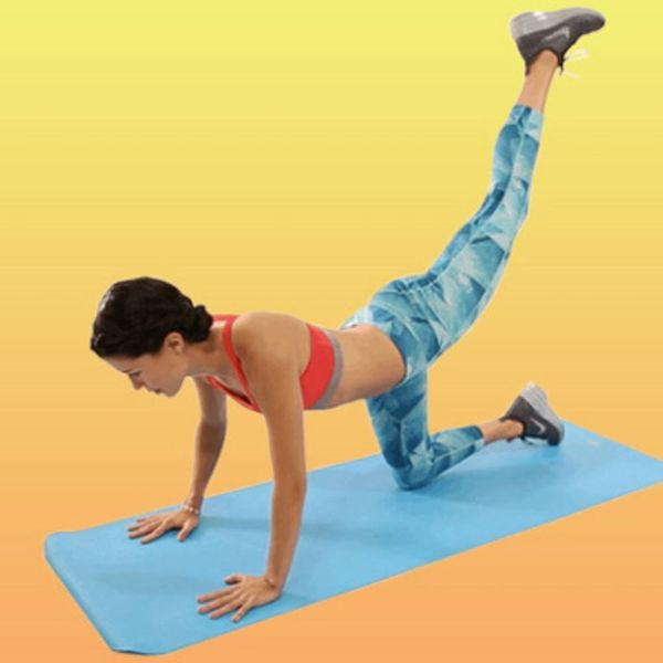 10 Butt Exercises for a Tighter, Firmer, Extra Bangin' Booty