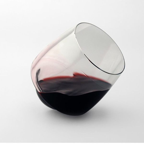 These Wine Glasses Will Never Fall Over