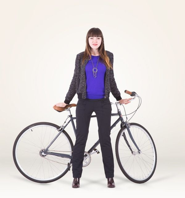 These Dress Pants Are Perfect for… Biking