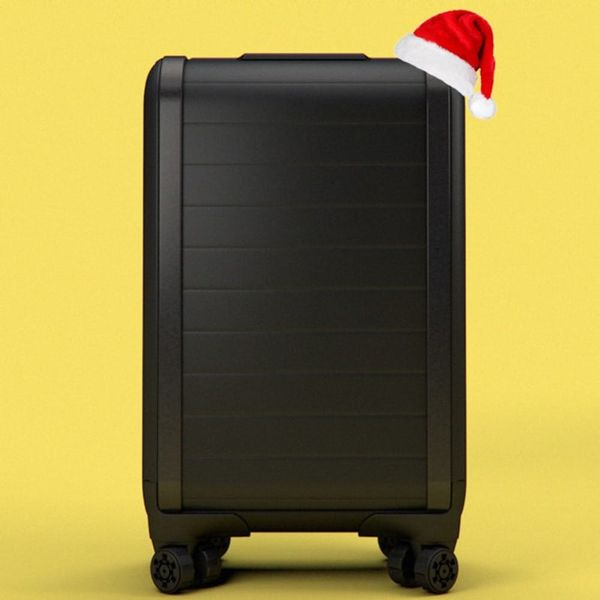 This Dream Luggage Will Make Next Year's Holiday Travels Way Better