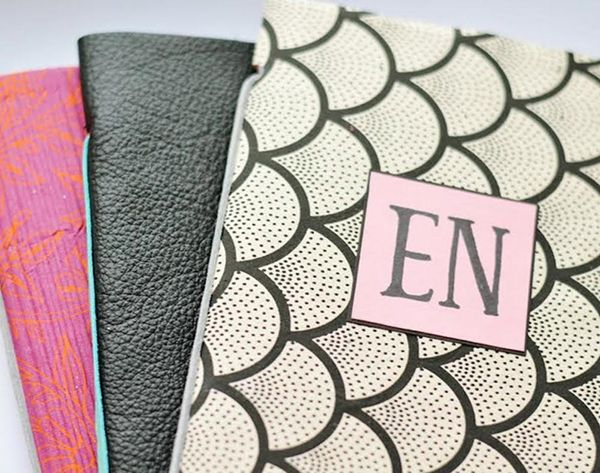 Scribble Down Your Resolutions in These DIY Notebooks