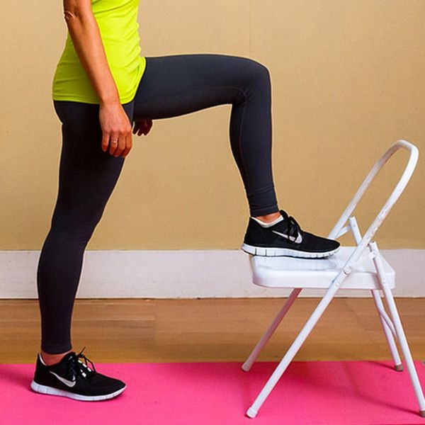 No Gym Membership? No Prob! 11 Exercises That Only Require a Chair