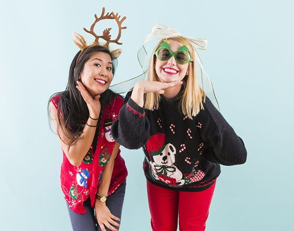 And the Winners of the 2014 Tacky Sweater Contest Are…