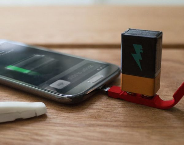 This Phone Charger Lets You Use 9-Volts as Your Ultimate Backup