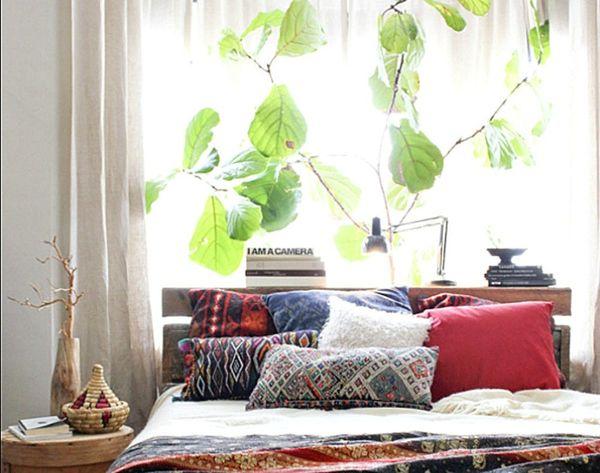 13 Beautiful Botanical Bedrooms