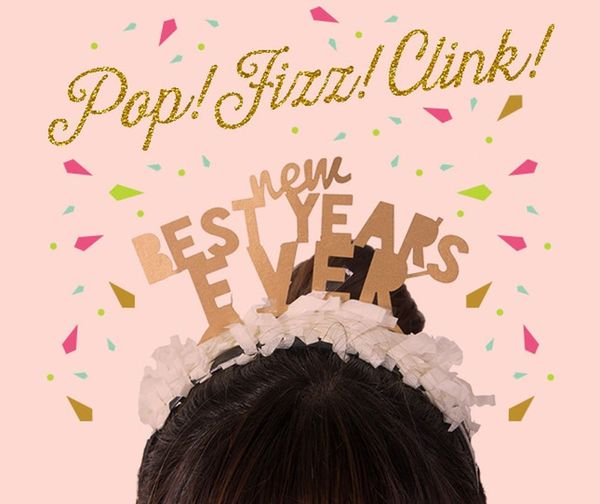 Pop, Fizz, Clink! Shop Our New Year's Eve Collection