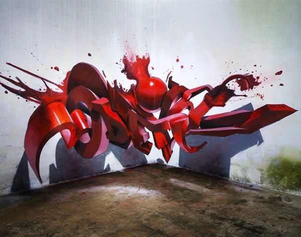 This 3D Street Art Is One Must-See Trippy Illusion