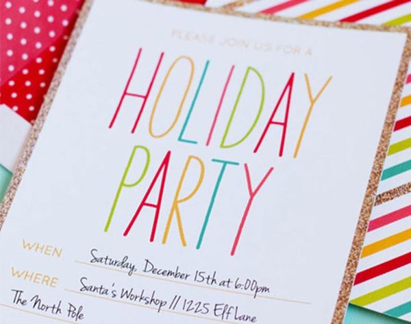 It's Not Too Late! 14 Printable Holiday Cards and Invites to Mail