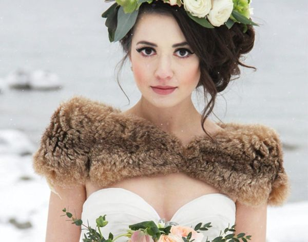 18 Cozy Winter Wedding Outerwear Looks