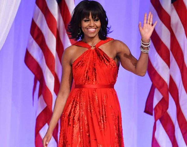 5 Ways to Hack Your Office Dress for a Holiday Party like Michelle Obama