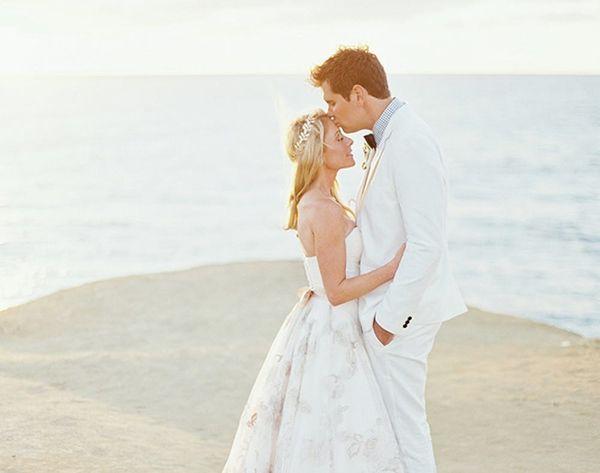 DIY Weddings: See This Blogger's Ethereal Beach Wedding