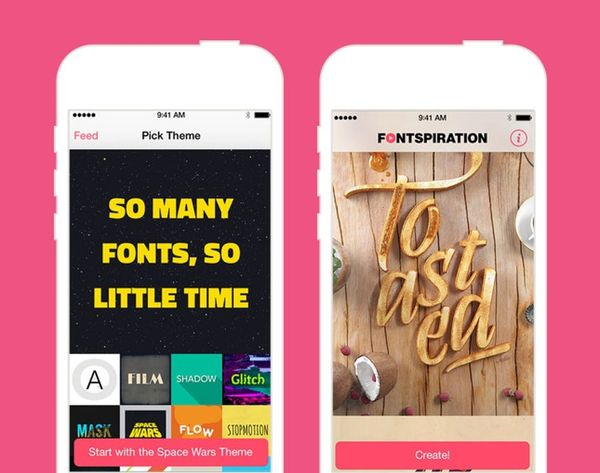 Make Your Words Dance With the Fontspiration App