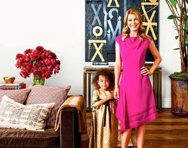 Peek Into Ellen Pompeo's Italian-Inspired Home