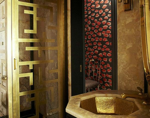 We're Swooning Over These 10 Luxe Celebrity Bathrooms