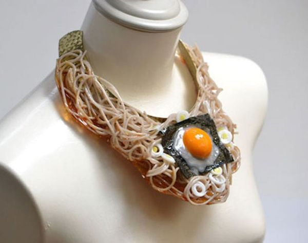 These Necklaces Are Made of Hyper-Realistic Fake Food