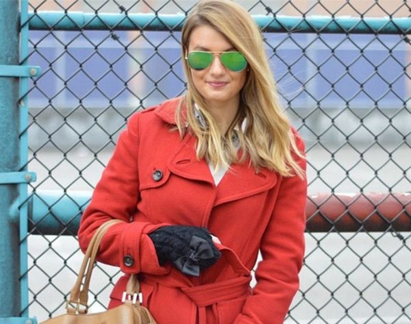 7 #OOTDs for the Week: How to Nail the Winter Pop of Color
