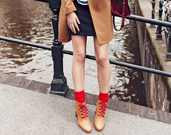 15 New Ways to Style Boots + Socks