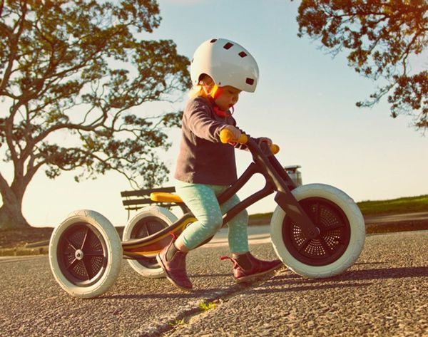 This Kids' Bike Is Made Out of Recycled Carpet