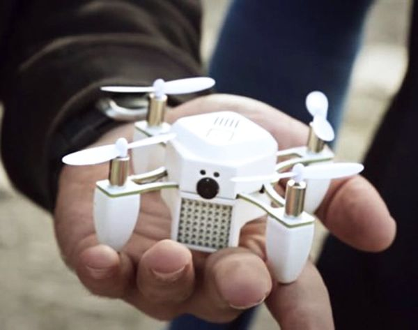 Forget the Selfie Stick. Meet the Selfie Drone.