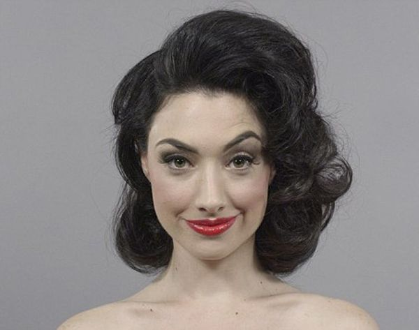 Watch 100 Years of Beauty Trends in One Minute