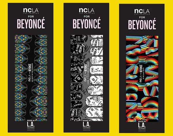 Made Us Look: Beyoncé Approved Nail Wraps