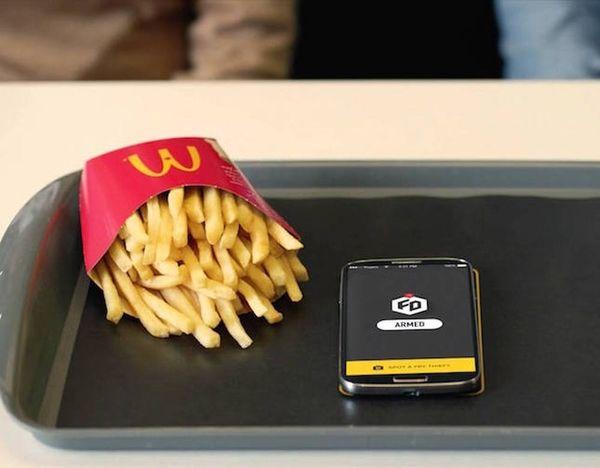 WTF: McDonald's App Defends Your Precious Fries