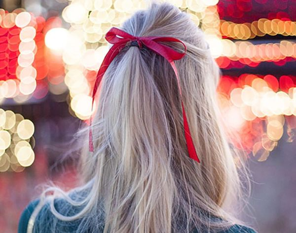 12 Ways to Rock Ribbon in Your Hair