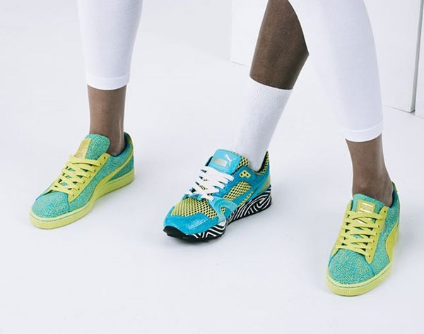 Solange Designed MORE Crazy Colorful Sneakers for PUMA