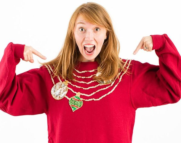 Show Us Your Tacky Holiday Sweater and Win $250!!