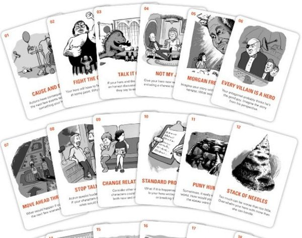 Got Writer's Block? These Cards Can Help