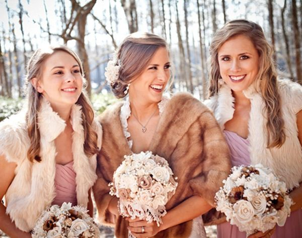 15 Cozy Cover-Ups for Winter Weddings