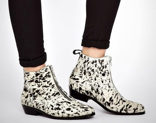 Pretty in Print: 11 Patterned Booties to Rock This Winter