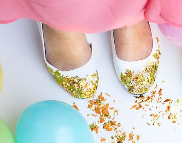 15 Ways to Repurpose Confetti After New Year's Eve