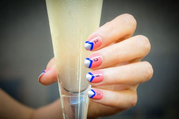 15 Nail Art Designs We'd Raise Our Glasses To