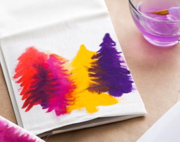 New in the Shop: DIY Watercolor Tea Towels Kit!