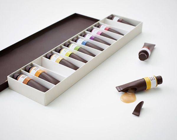 Made Us Look: These Beautiful Oil Paint Tubes Are Actually Chocolate!