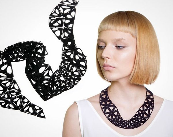 Now You Can 3D Print Flexible Statement Jewelry