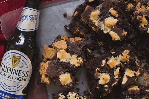 Spike Your Sweets With This Guinness S'more Brownies Recipe